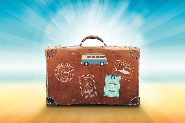 luggage. best seasons to move. sunlight