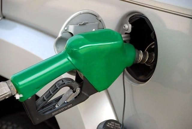 moving truck rental. pumping gas