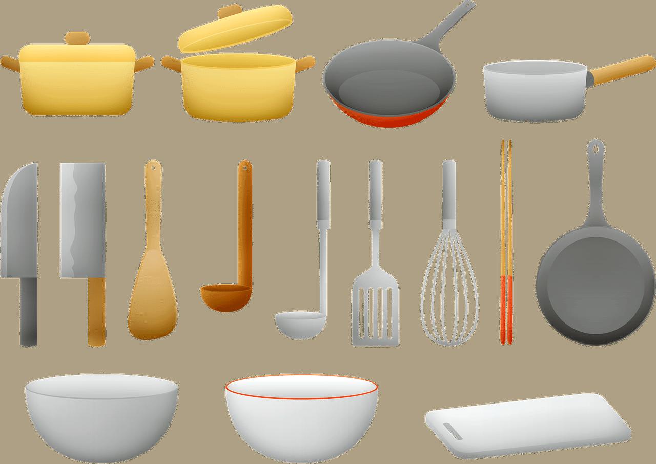 first apartment essentials. kitchenware.